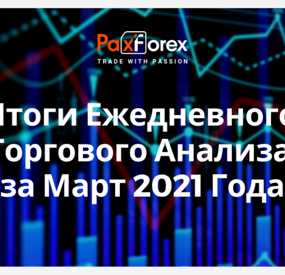 Итоги Ежедневного Торгового Анализа за Март 2021 Года1