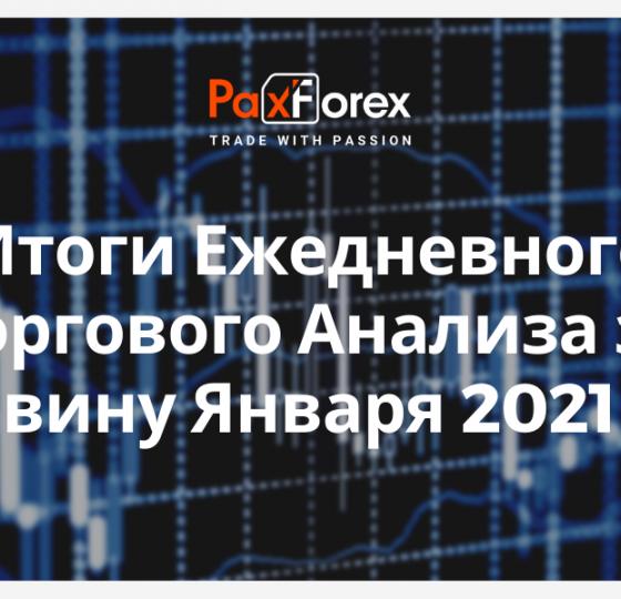 Итоги Ежедневного Торгового Анализа за Половину Января 2021 года1